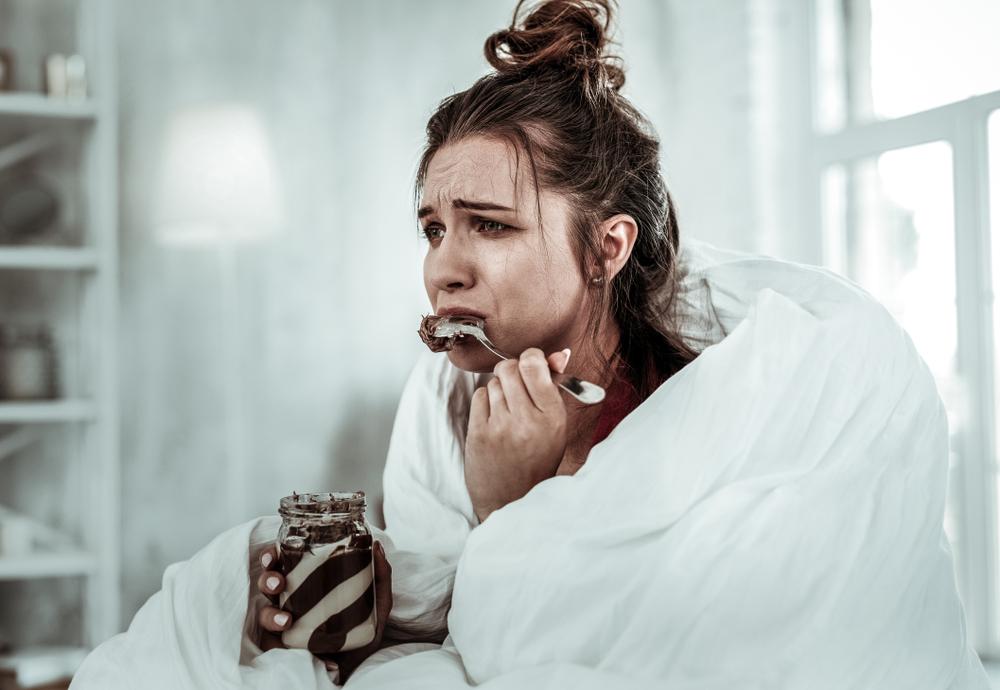 История из жизни: начало депрессии - классическое заедание стресса